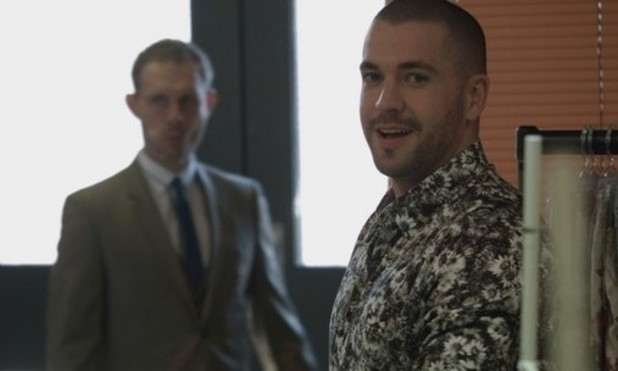 Coronation Street tease Shayne Ward's debut as Aiden Connor - 1 July 2015.