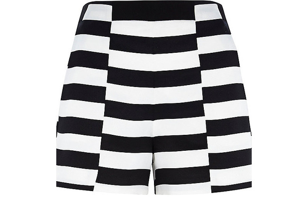White Stripe Shorts £30 River Island 30th June 2015