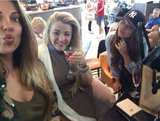 Brooke Vincent blog photo - Las Vegas - 1 July 2015.