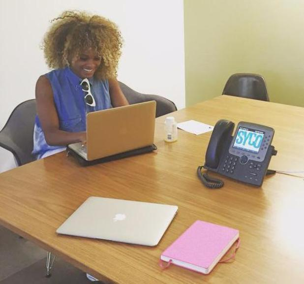 X Factor star Fleur East teases debut album after meeting at Syco - 30 June 2015.