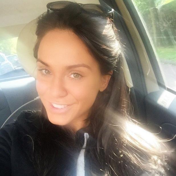 Vicky Pattison no make-up selfie, Instagram 30 June