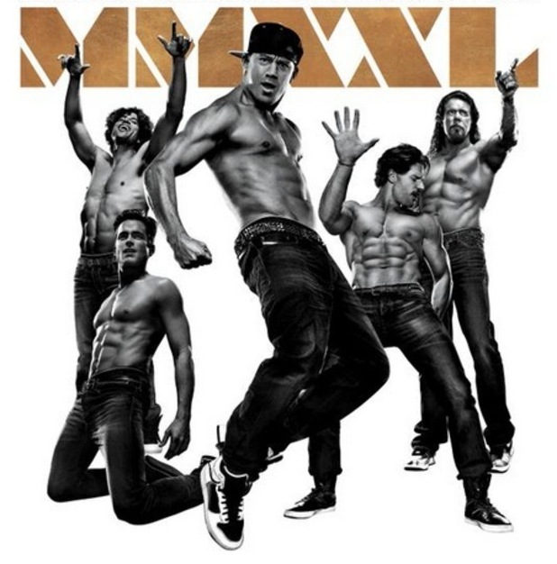 Magic Mike film art, June 2015