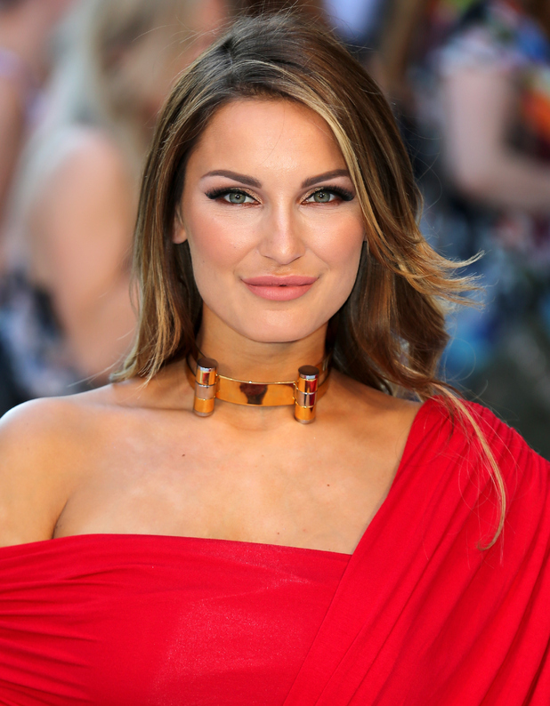 TOWIE's Sam Faiers at the Magic Mike XXL premiere in London 30th June 2015