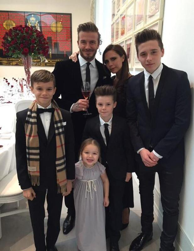 Victoria Beckham shares lovely family snap to celebrate her wedding anniversary to David, 4 July 2015