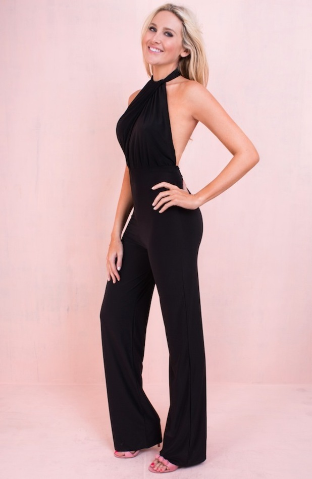 Made in Chelsea's Stephanie Pratt for Missy Empire wearing jumpsuit 29th June 2015