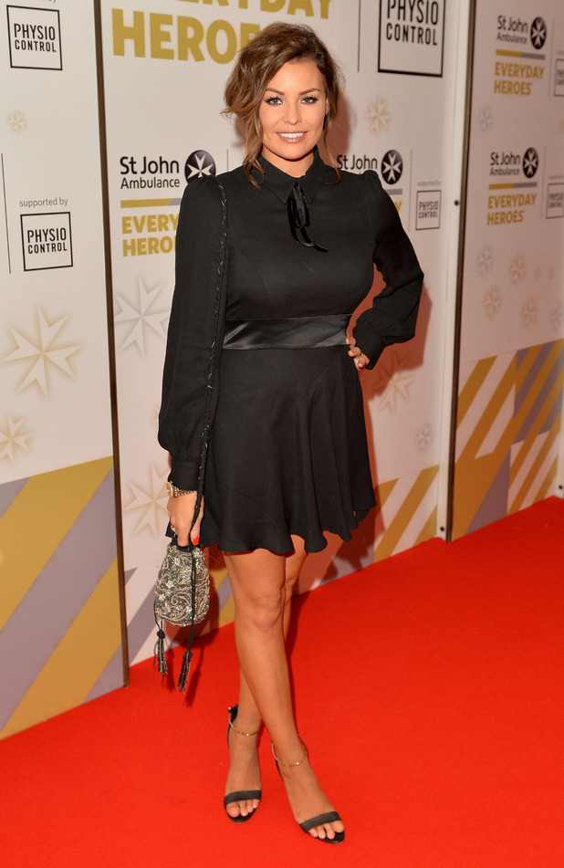 TOWIE's Jessica Wright attends the St John Ambulance's Everyday Heroes Awards, a star-studded celebration of the nation's life savers at Lancaster London Hotel on July 1, 2015 in London, England.