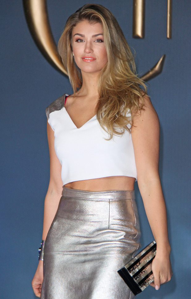 Amy Willerton at the Cinderella' UK Premiere at the Odeon Leicester Square, London - 19 March 2015.