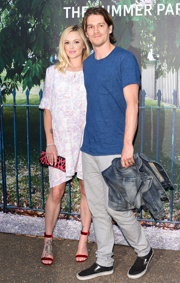 Pregnant Fearne Cotton at the Serpentine Gallery summer party held in Kensington Gardens - 2 July 2015.