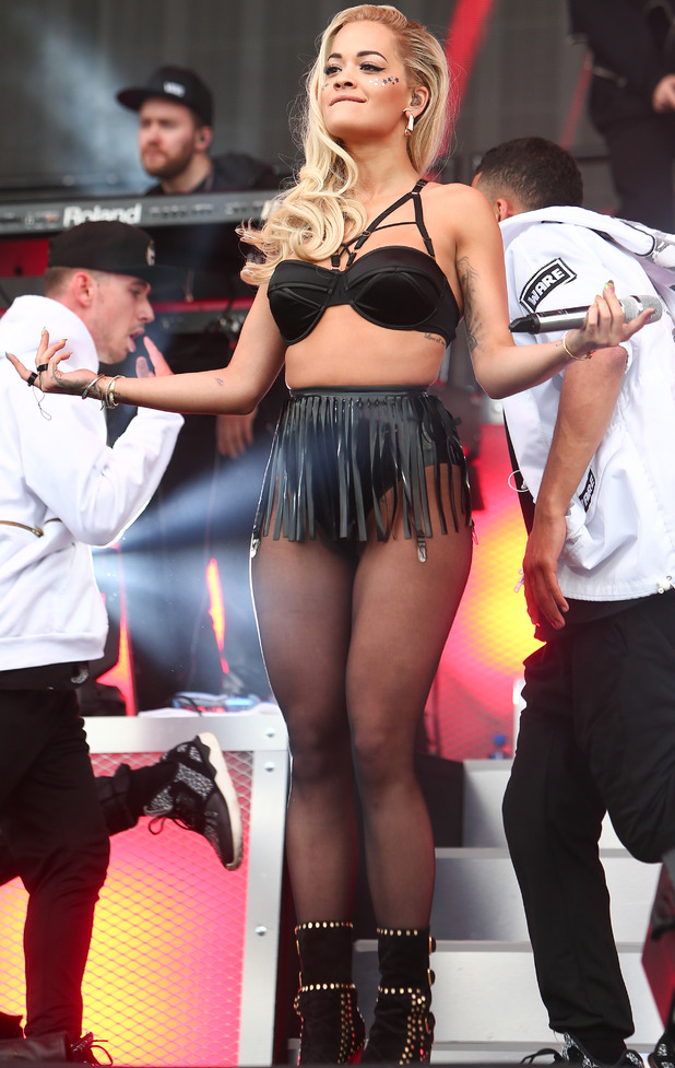 Rita Ora performing at Wireless Festival's Pre Party 2015 in London's Finsbury Park 29th June 2015