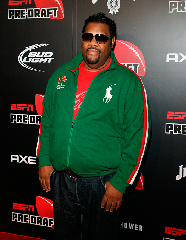 Fatman Scoop ESPN The Magazine Presents the 10th Annual Pre-Draft Party Held at The IAC Building