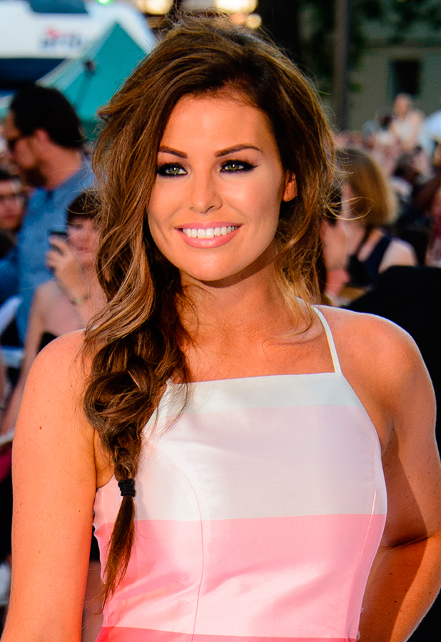 Jess Wright Magic Mike XXL Premiere held at the Vue West End 30 June 2015