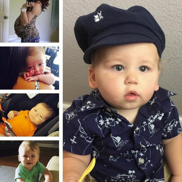Jenelle Evans marks Kaiser's first birthday 29 June 2015