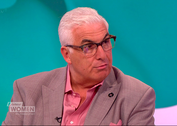 Mitch Winehouse discussing his disapproval with 'Amy', the new documentary about his late daughter, Amy Winehouse, on 'Loose Women'. Broadcast on ITV1 HD. 3 July 2015
