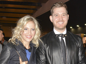 Michael Buble's wife Luisana Lopilato is pregnant with their second child