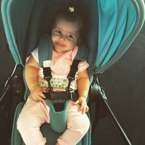Jacqueline Jossa shares gorgeous photo of her daughter Ella, July 2015
