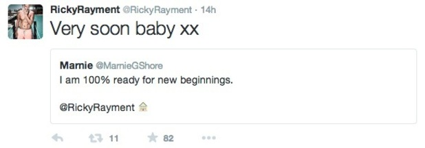 Ricky Rayment and Marnie Simpson hint they're moving in together 5 July