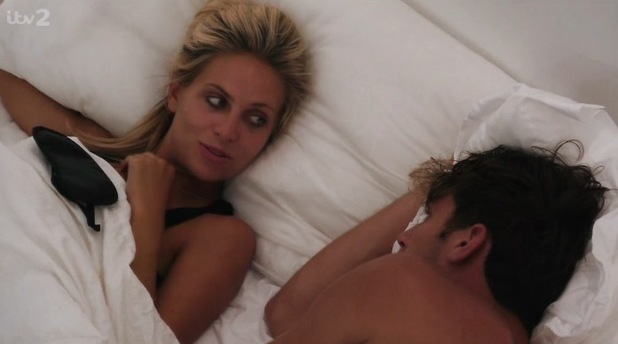 Naomi Ball and Max Morley on Love Island 3 July