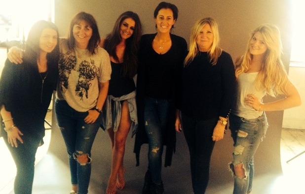 Brooke Vincent blog - Behind-the-scenes photoshoot 9 July