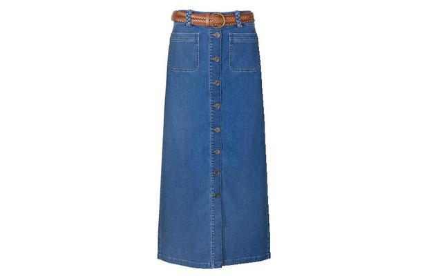 Gok Wan for TU at Sainsbury's Summer Collection Midi Skirt £30, 7th July 2015