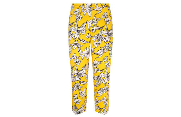 Gok Wan for TU at Sainsbury's Summer Collection Floral Print Trousers £28 7th July 2015