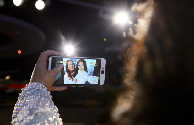 Madame Tussauds reveal first 'Selfie Taking' figure as Kim Kardashian joins the A-list cast - 9 July 2015.