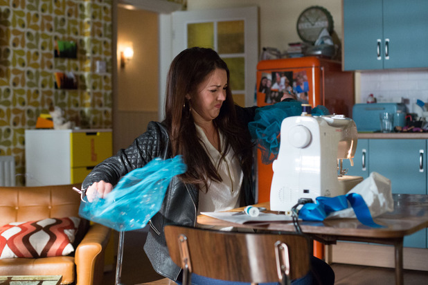 EastEnders, Stacey rips Lily's dress, Thu 9 Jul