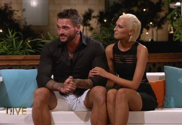 Jordan Ring and Zoe Basia Brown voted out of Love Island 9 July