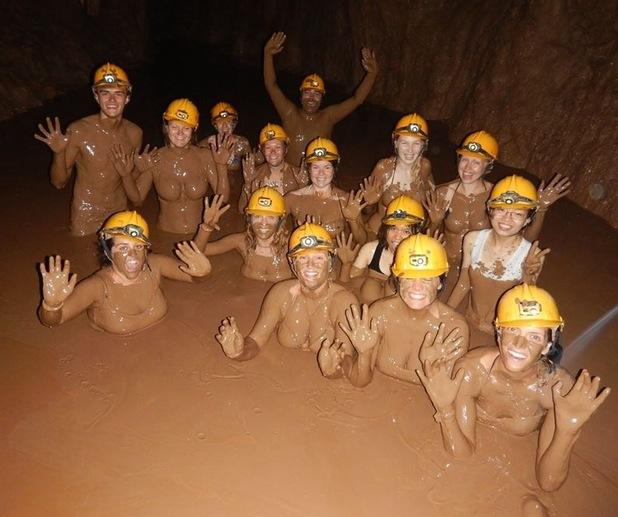 Mud in the dark cave, 11/7/15