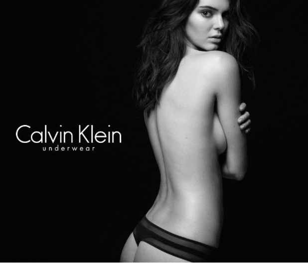 Kendall Jenner teases Calvin Klein Underwear shots on Instagram 9th July 2015