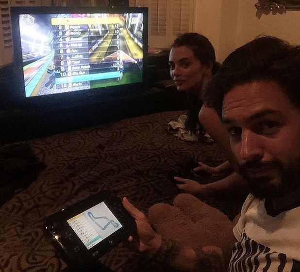 Mario Falcone and Emma McVey play Mario Kart 8 July