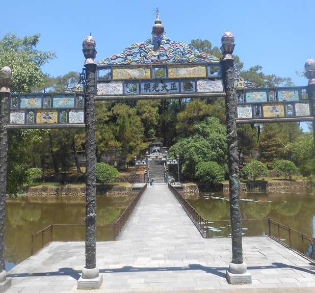 Archway of The Palace Of Supreme, Hue, Vietnam, 12/7/15
