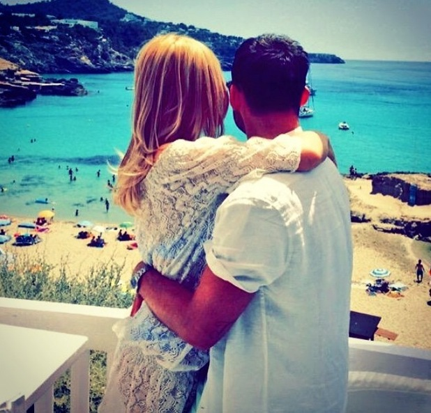 Jake Quickenden and Danielle Fogarty in Ibiza 8 July