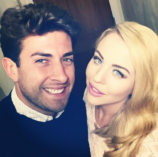 Lydia Bright and James Arg Argent selfie 8 July