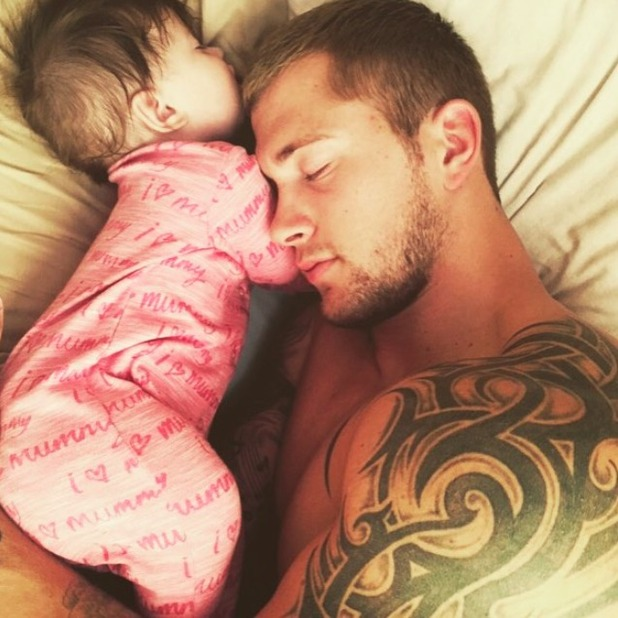Jacqueline Jossa shares gorgeous photo of her daughter Ella with daddy Dan Osborne, 11 July 2015
