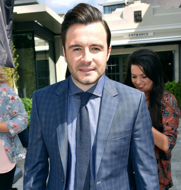 Former Westlife singer Shane Filan is a guest on Pat Kenny In The Round recorded at The Mansion House, Dublin, Ireland - 26.05.15.
