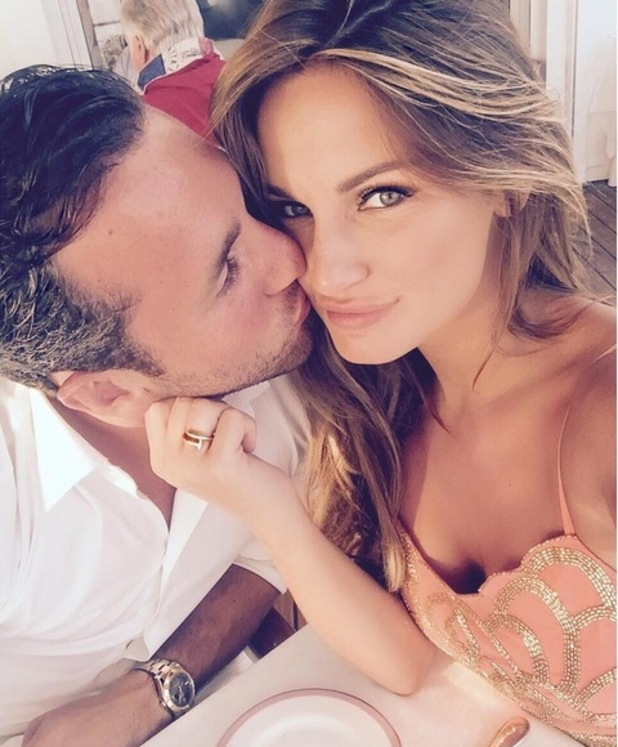 Sam Faiers and boyfriend Paul Day holiday in South of France 5 July