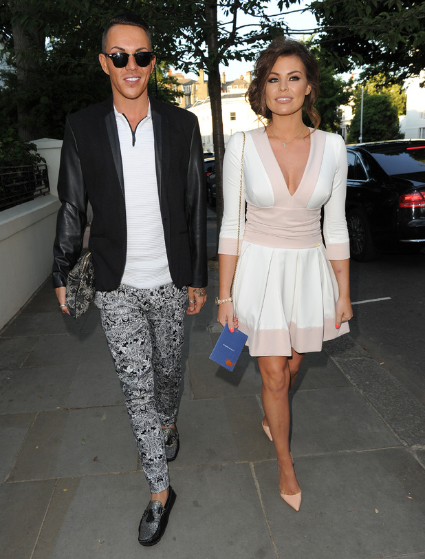 Jessica Wright and Bobby Norris attend ITV summer party, London 9 July