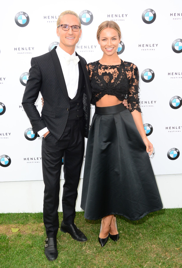 Oliver Proudlock, Emma Louise Connolly at the Henley Festival 2015 - 8 July.