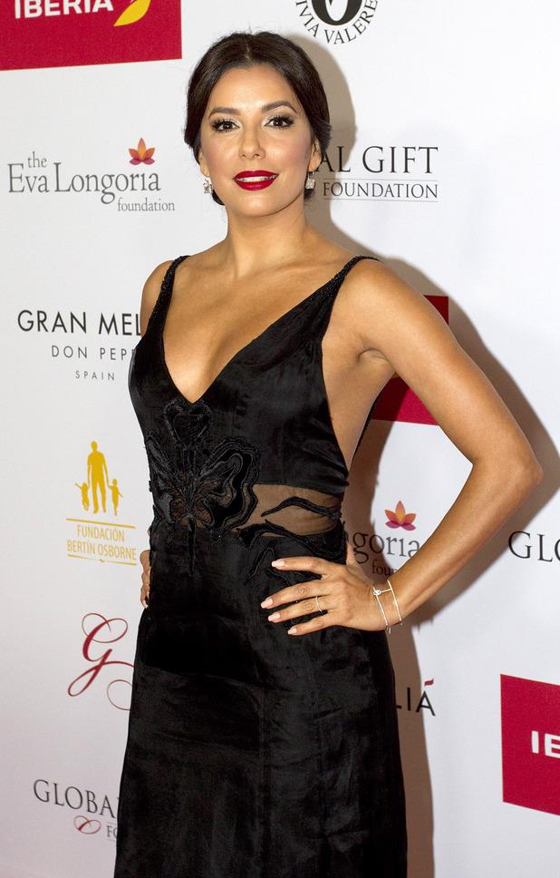 Eva Longoria at the Global Gala in Marbella, Spain 6th July 2015