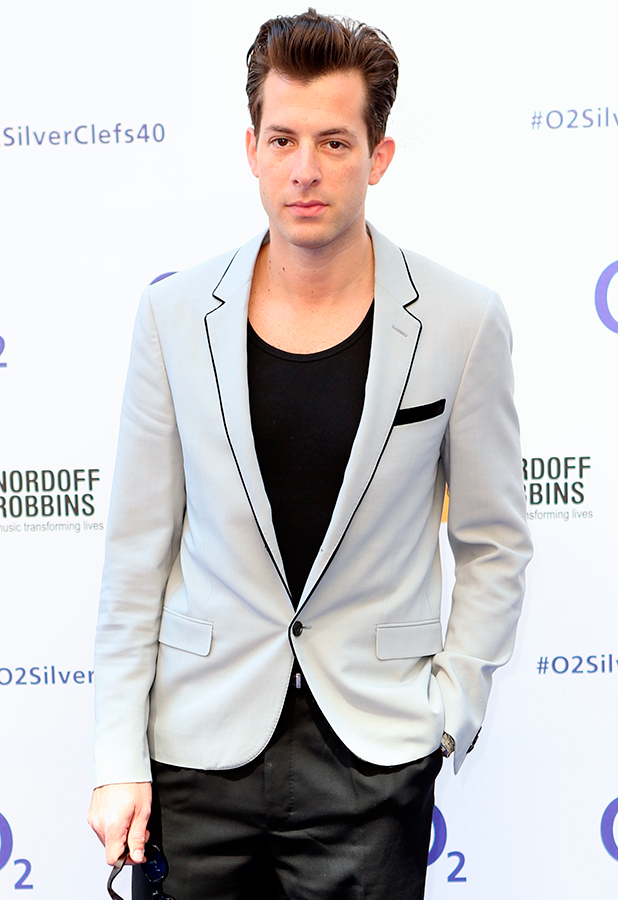 Mark Ronson, Red Carpet arrivals for the 02 Silver Clef Awards 2015 held at Grosvenor House, Park Lane, London