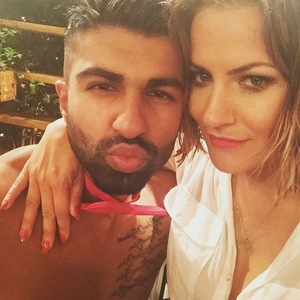 Caroline Flack and Omar Sultani, Love Island final 15 July