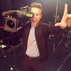 Olly Murs at X Factor's Wembley auditions, London 15 July