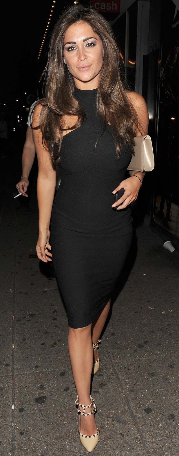 Casey Batchelor at the In The Style summer party in London 17th July 2015