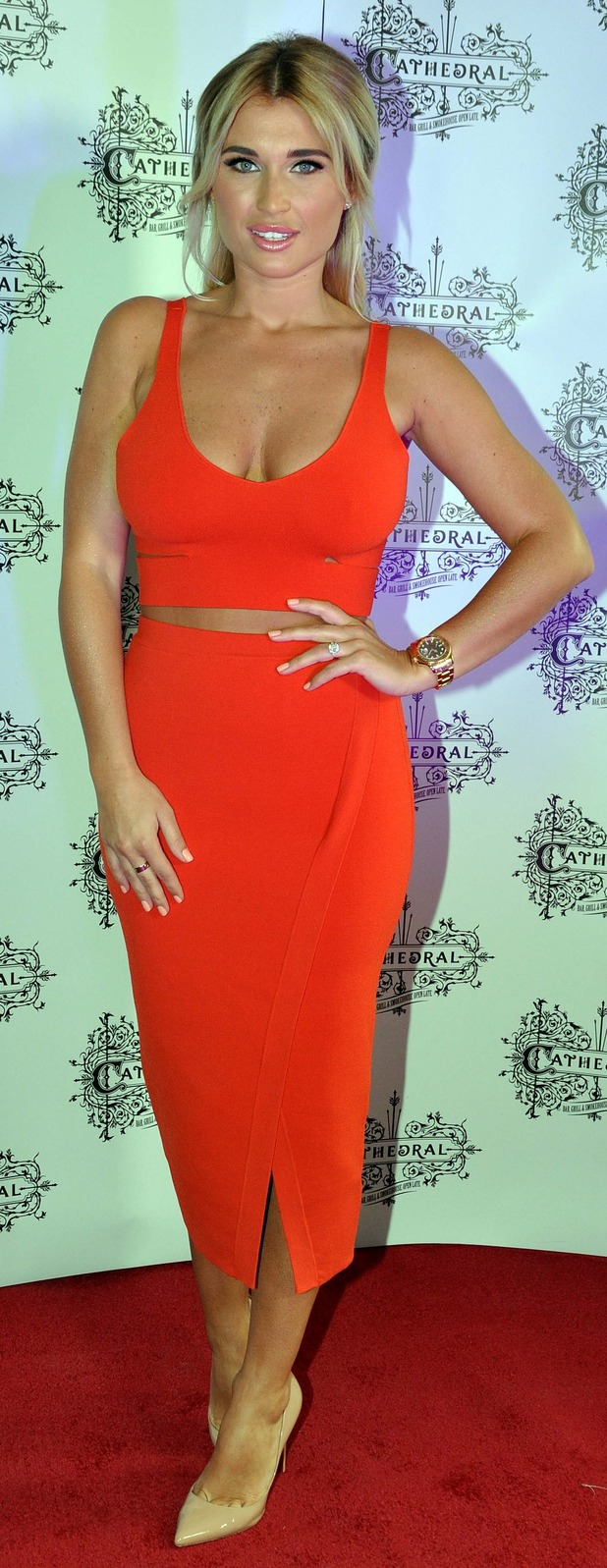TOWIE's Billie Faiers at Cathedral Garden Bar 13th July 2015