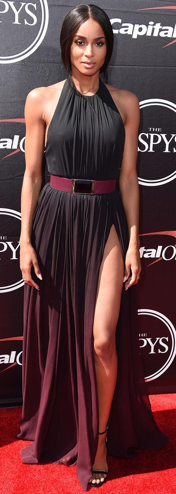 Ciara at the ESPY Awards in L.A, 16th July 2015