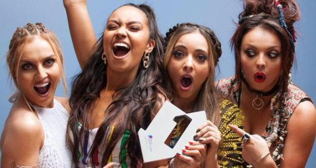 Little Mix get their third number one with Black Magic, 18 July 2015