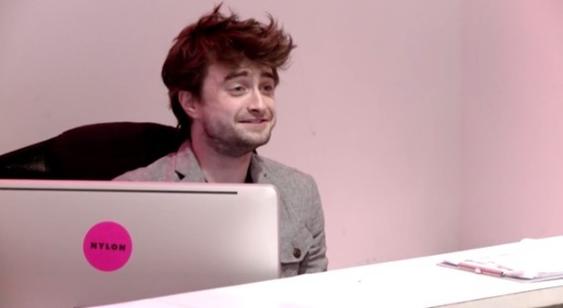 Daniel Radcliffe spends an hour as a receptionist, 16th July 2015
