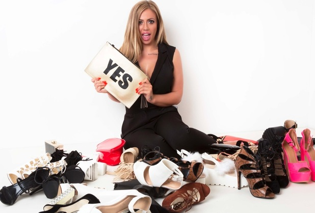 Geordie Shore's Holly Hagan launches her first every show collection for Lasula.co.uk, 17th July 2015