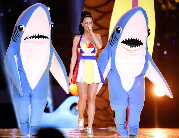 Katy Perry performing at the Super Bowl XLIX American Football, Arizona, America - 01 Feb 2015.
