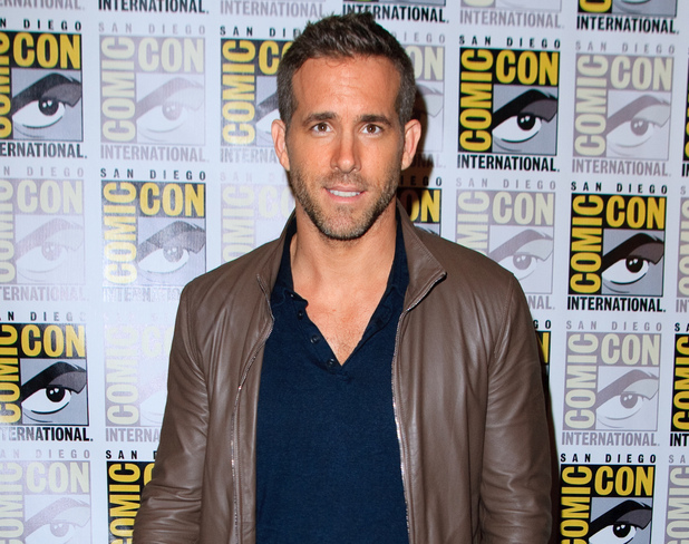 Ryan Reynolds attends Comi-Con in San Diego, US 11 July